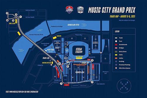 La IndyCar confirma el curioso circuito urbano de Nashville para 2021