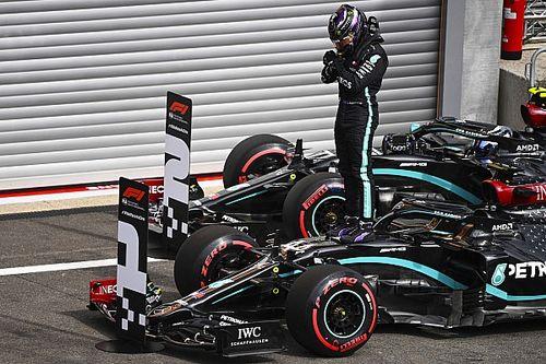 Belgian GP: Hamilton beats Bottas to pole by 0.5s