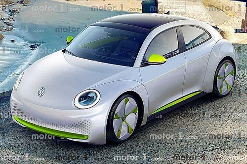 Render Volkswagen ID.Beetle: eléctrico retro