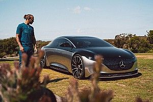Hamilton testimonial dell'elettrico di Mercedes