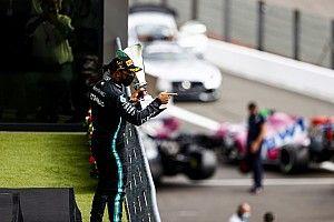 Hamilton onbedreigd naar winst in Belgische GP, Verstappen derde