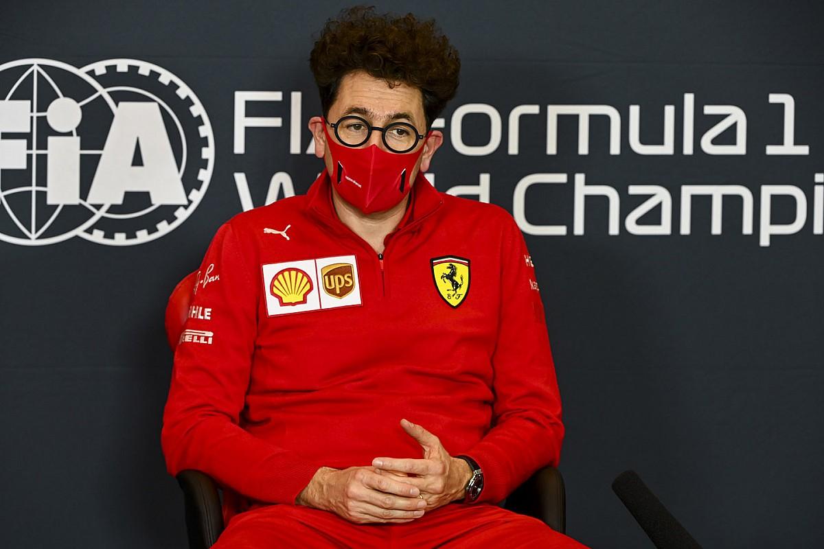 El jefe de Ferrari, Binotto, se salta el GP de Turquía