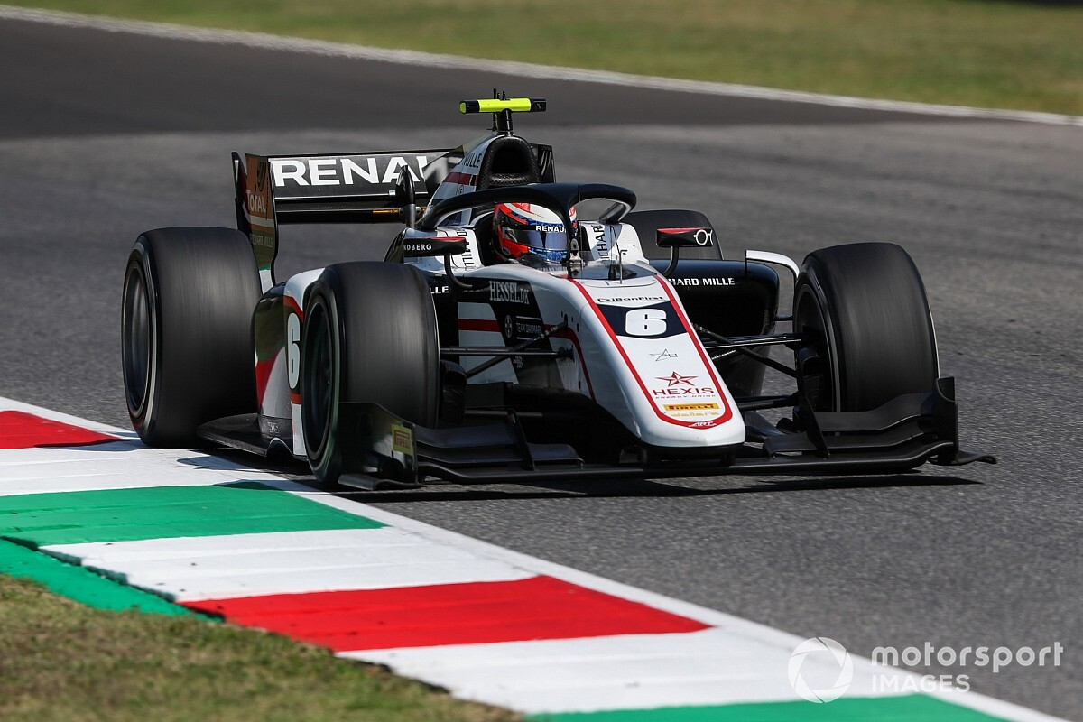 Mugello F2 Lundgaard Dominates Sprint Race Vips On Podium