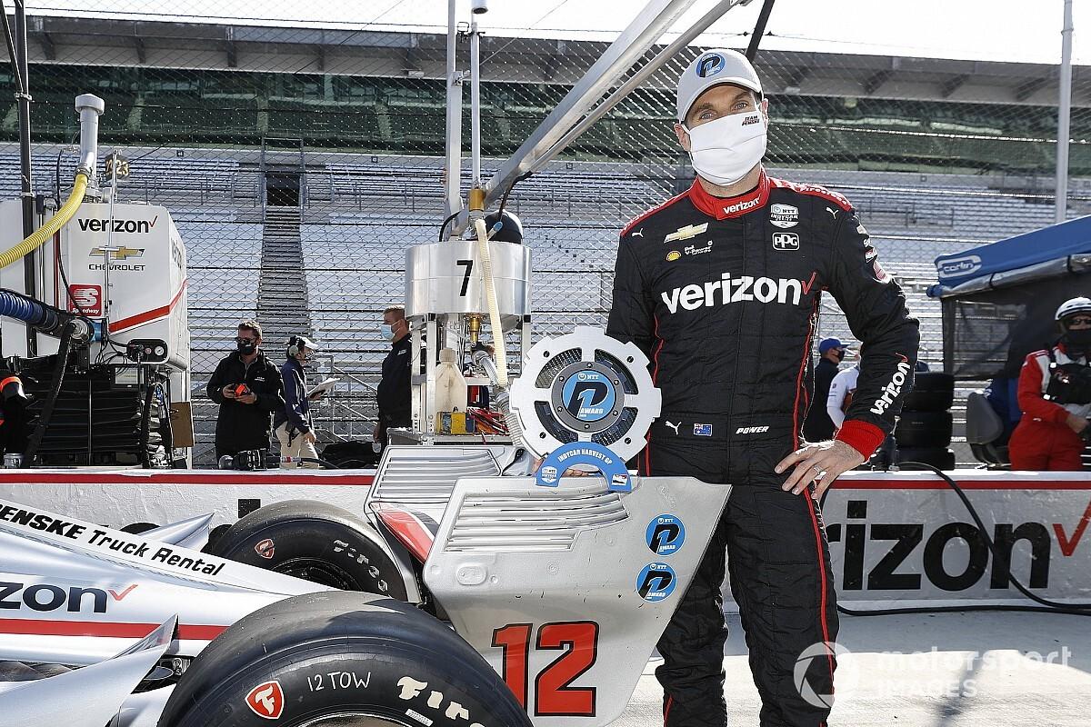 IndyCar Harvest GP: Power takes pole for Race 2