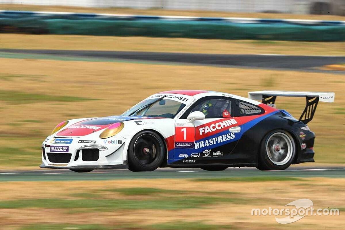 Porsche GT3: Urubatan Jr. supera Nelson Marcondes na última volta e volta a vencer em Goiânia