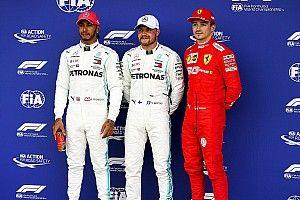 Starting grid F1 GP Inggris Raya 2019