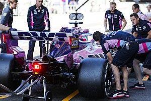 Pérez visszavált a régi motorra, de a többi Mercedes-egység marad a helyén
