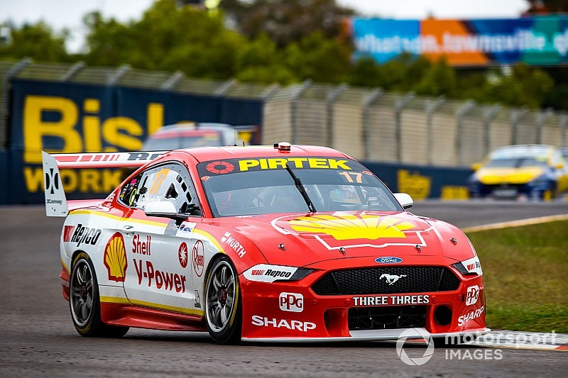 Townsville Supercars: McLaughlin, Hazelwood star in qualifying