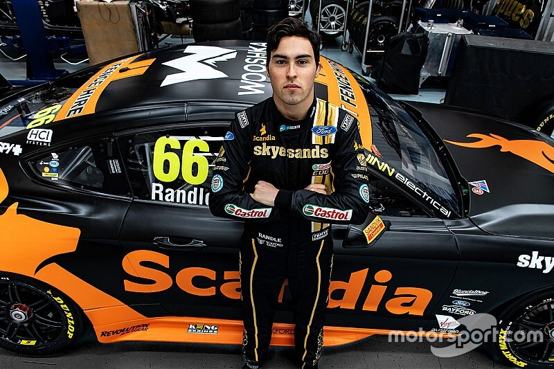 The story behind a rising Supercars star's cancer fight