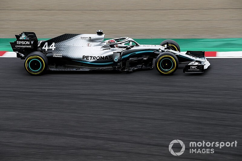 Mercedes jest szybszy