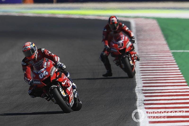 Des pilotes Ducati distancés, et pourtant à leur maximum