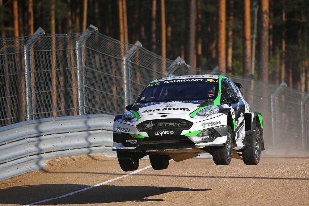 Baumanis zwycięzcą rundy Euro RX1 w Rydze