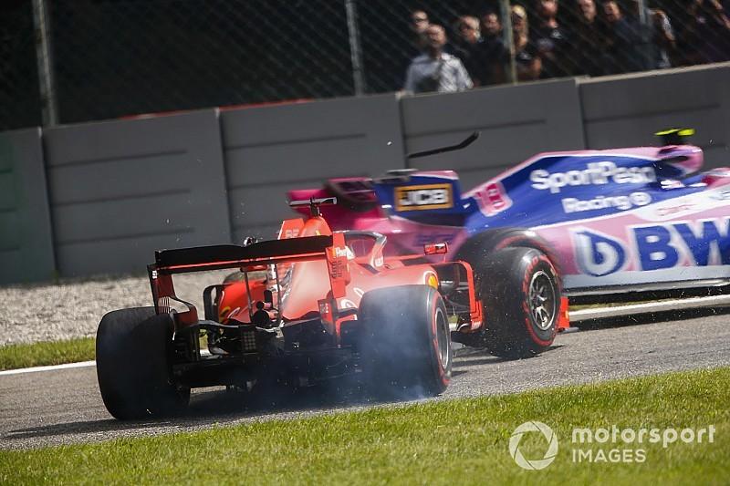 Vettel, cerca de perderse una carrera
