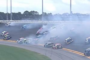 Prova em Daytona é marcada por raios, big one e zebra