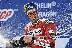 """Dovizioso arrache la 2e place: """"Je voulais y croire"""""""