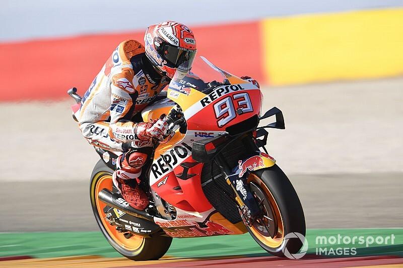 Márquez voa e faz a pole para a etapa de Aragón da MotoGP