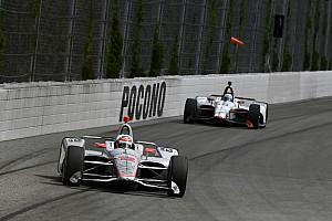 ポコノ決勝:パワーが今季初優勝! 佐藤琢磨、多重クラッシュで0周リタイア