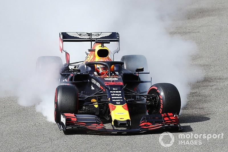 """Verstappen valt uit in openingsronde op Spa: """"Kimi zag mij niet"""""""