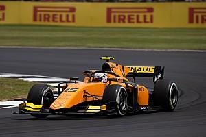 Silverstone, F2: Aitken regola Deletraz e si impone nella Sprint Race