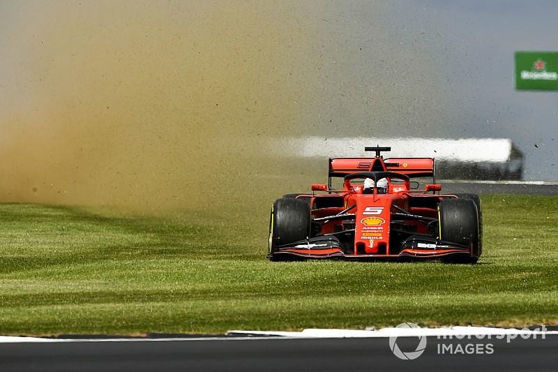 VÍDEO: Veja a pancada de Vettel em cima de Verstappen no GP da Grã-Bretanha de F1