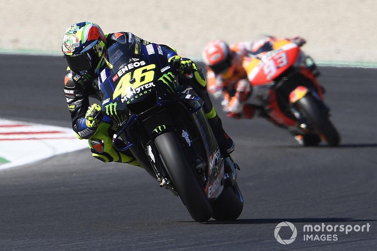 Rossi e Marquez se estranham, e Viñales faz pole em San Marino