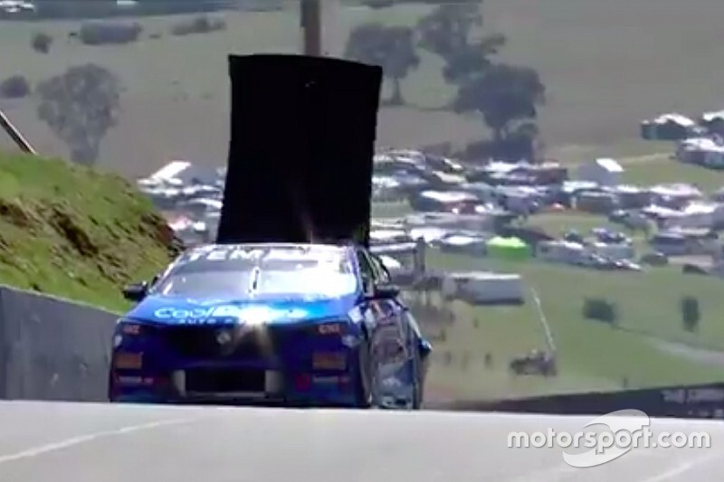 Bathurst 1000: Practice crash peels roof off Jones Holden