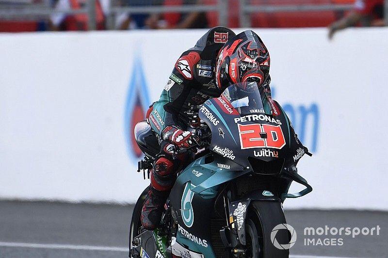 """Quartararo aveva un motore Yamaha """"full factory"""" in Thailandia"""