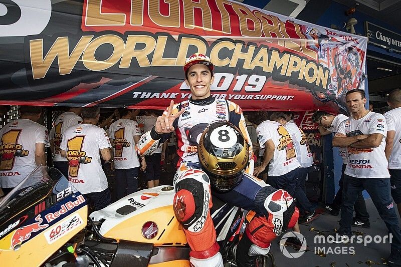 Márquez culmina a lo grande su mejor año en MotoGP
