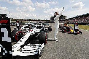 Hamilton gana la pole en Alemania ante drama de Ferrari