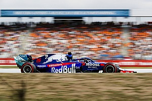 "Kvyat podium a ""reward"" for Toro Rosso helping Honda"