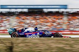 """Honda: Le podium de Kvyat, une """"récompense"""" pour Toro Rosso"""