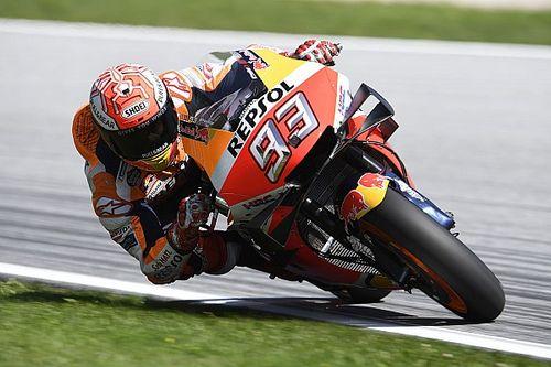 MotoGPオーストリア予選:マルケスがレコード更新の爆速ポール! 中上貴晶6番手
