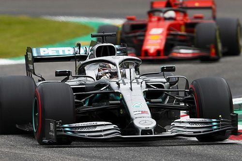 """Hamilton: Le faible écart avec Ferrari est """"surprenant"""""""