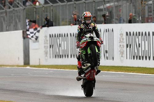Donington WSBK: Rea wins red-flagged Superpole race