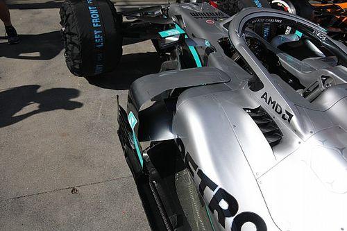 Mercedes simplifica el coche de Bottas para evitar distracciones