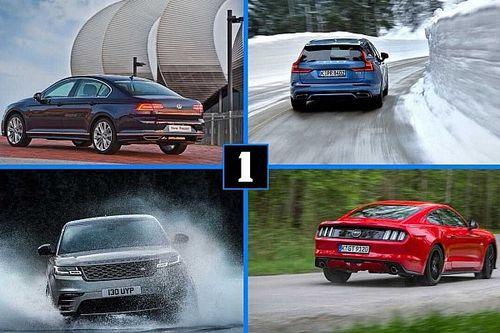 Los finalistas del Premio al coche del Año de las últimas 5 ediciones