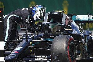 Боттас по радио сравнил Mercedes с газонокосилкой