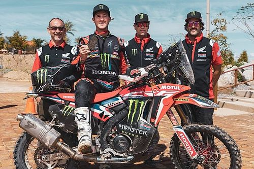 El ganador del Dakar se gusta en México