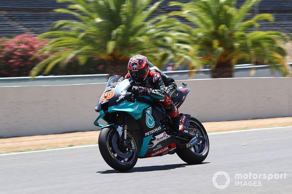 Куартараро выиграл вторую гонку MotoGP подряд