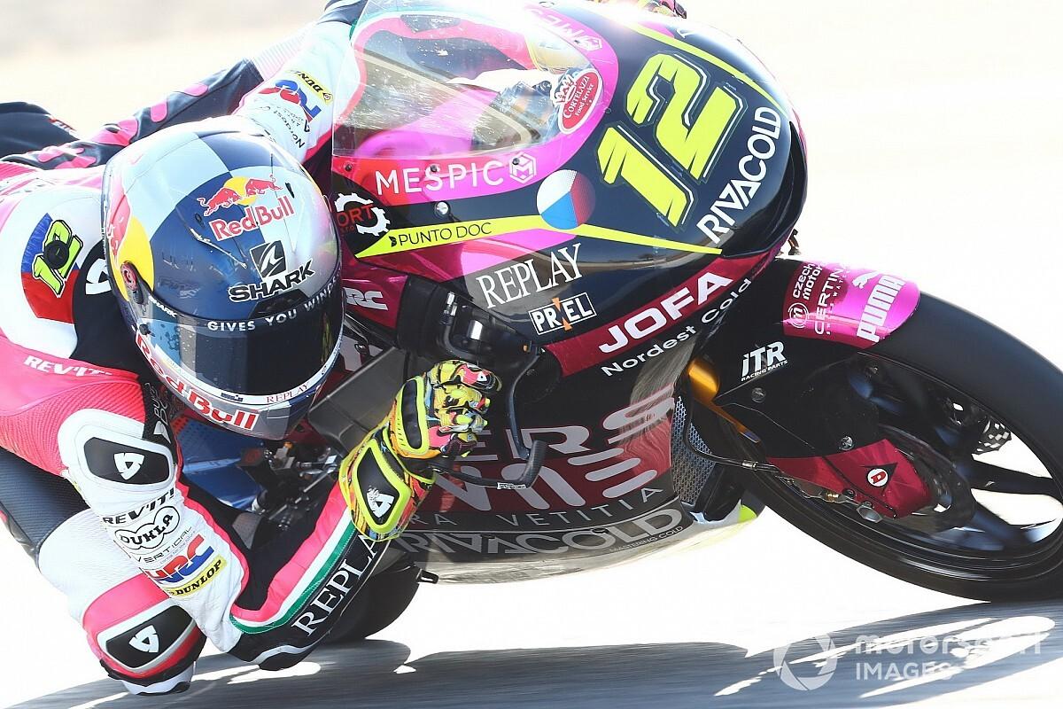 Moto3, Le Mans, Libere 2: Salac di un soffio su Fenati