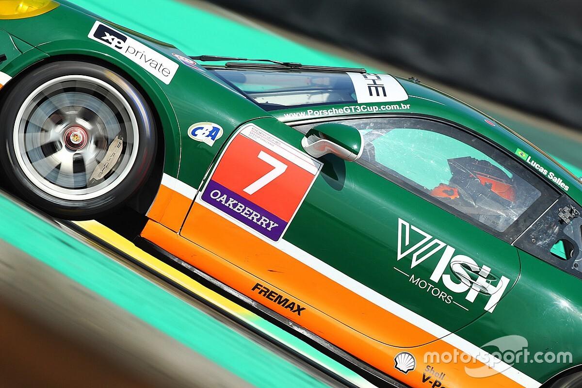 Porsche GT3 Cup: Salles lidera o treino livre em Goiânia; confira
