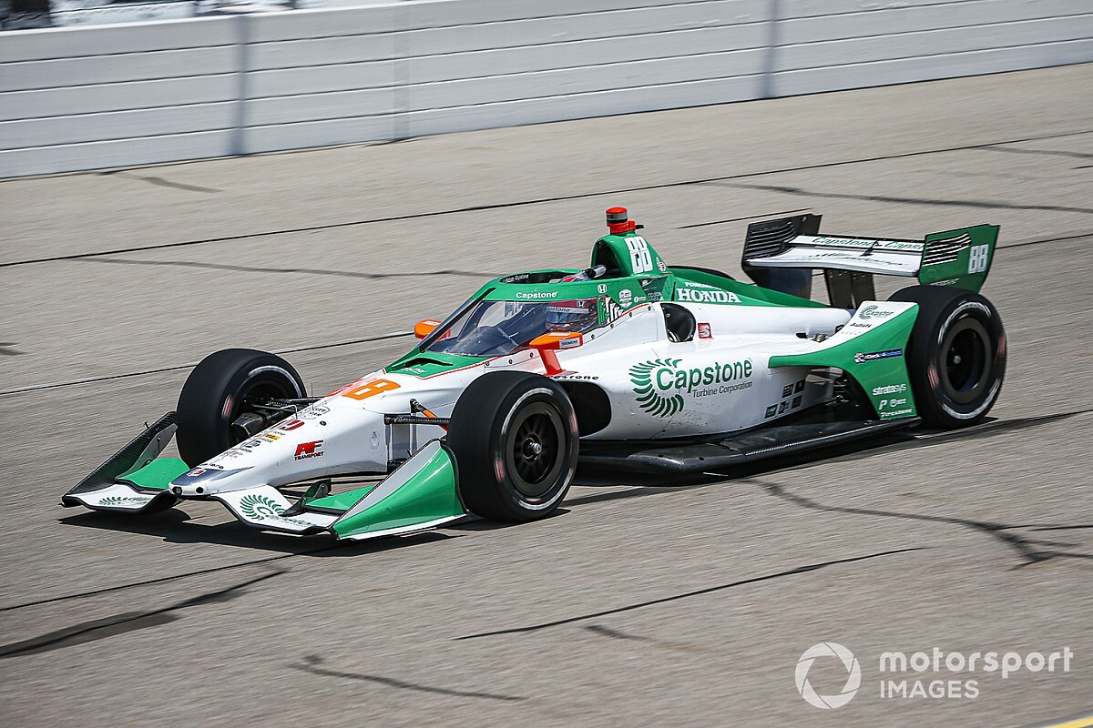 IndyCar Iowa: Herta leads Daly, Power in first practice