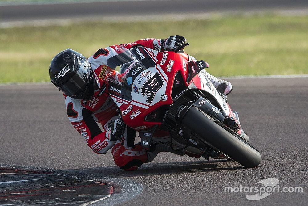 SBK: Melandri già in pista per un test con la Ducati di Barni