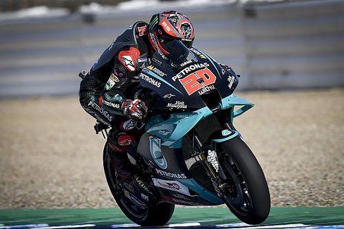 Ошибки Маркеса и Виньялеса позволили Куартараро одержать первую победу в MotoGP