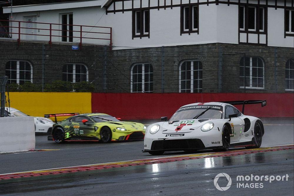 """Porsche fuel-saving was """"tough mentally"""", says Estre"""