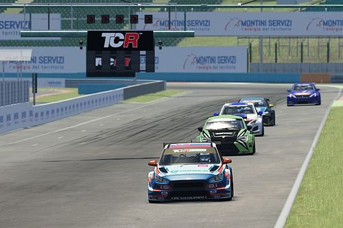 TCR Europe SIM Racing: dominio BRC all'Hungaroring