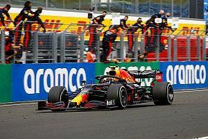 """Verstappen: """"Segundo es como ganar"""" tras chocar antes de la carrera"""