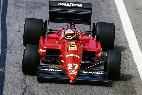 Los 19 autos de F1 conducidos por Michele Alboreto