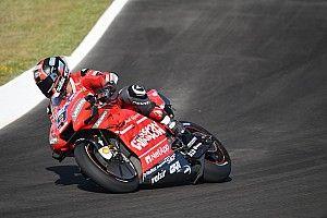Petrucci lidera un 1-2 de Ducati en el viernes de Jerez