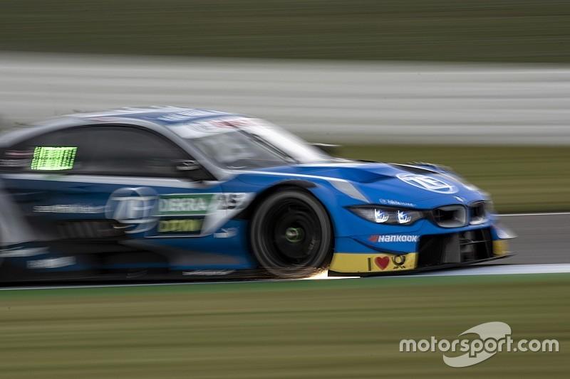 DTM Zolder: BMW bovenaan met Eng op natte vrijdag